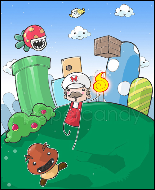Super_Mario_Cross__by_papercandy